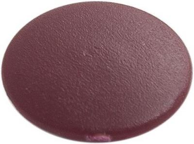 Заглушка декоративная под мебельный винт-стяжку, бордо (упак/1.000шт)